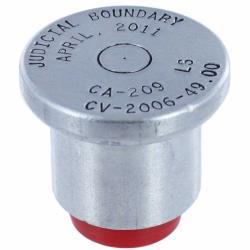 Aluminum Survey Caps For Pipe Pc6200
