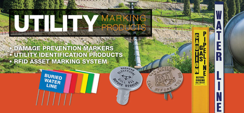 Carsonite Utility Marker Posts