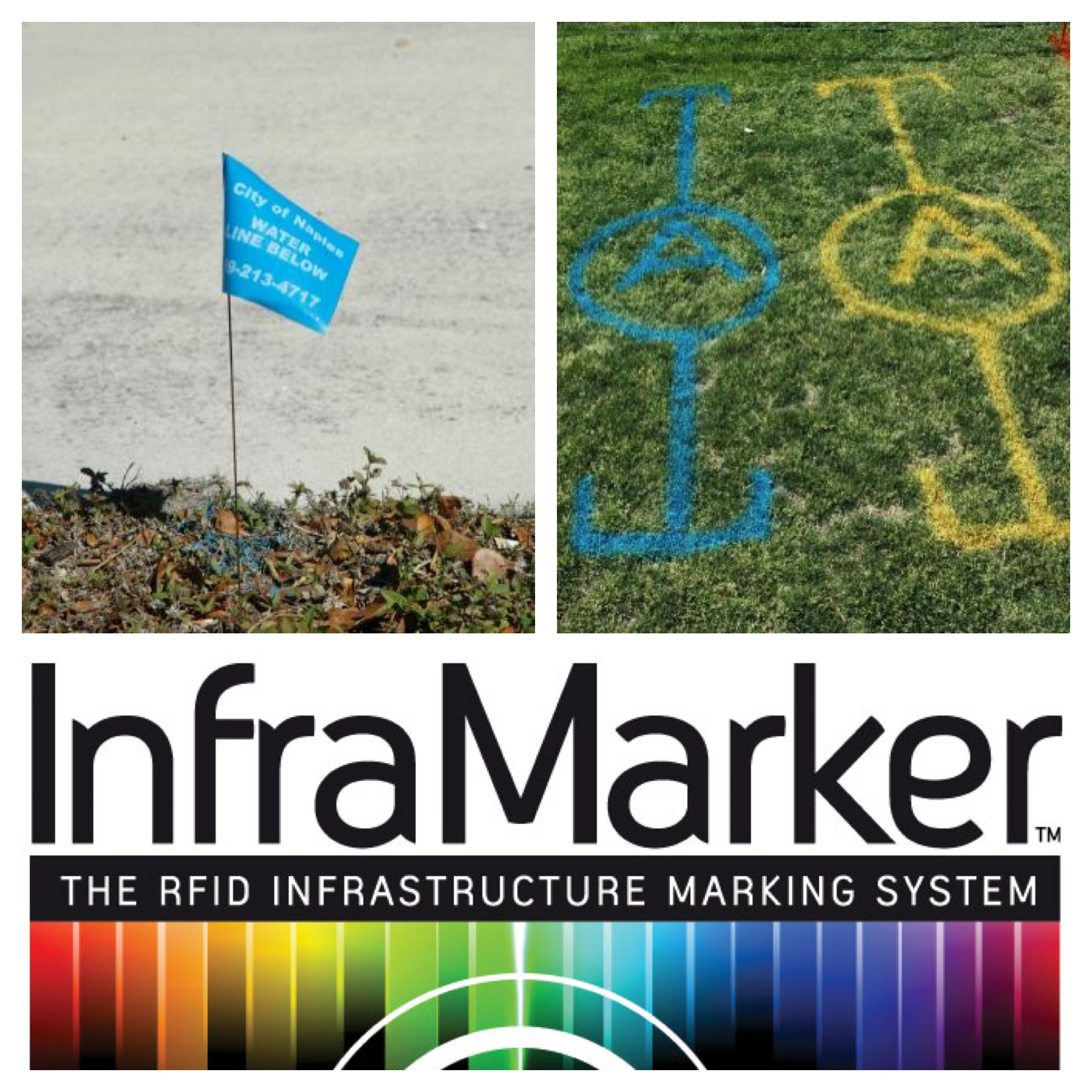 underground utility marking options