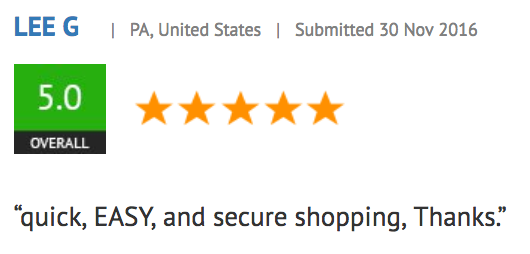 Google Trusted Store Review