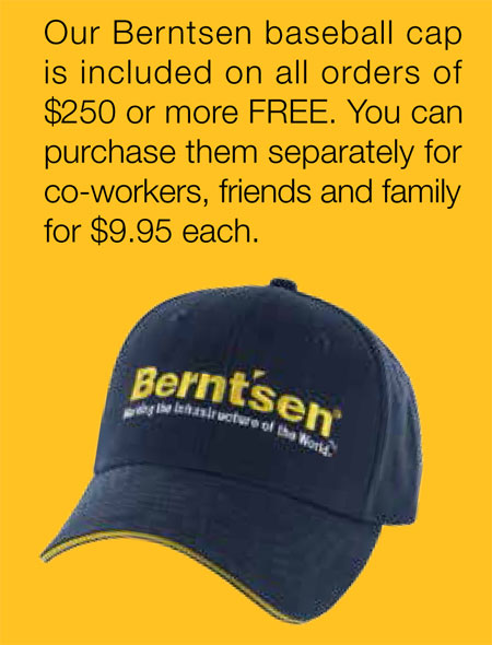 Berntsen Baseball Cap - FREE with order of $250