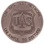 U.S. Forest Service Marker