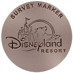 Disneyland California Survey Marker