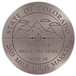 Colorado Mile High Marker
