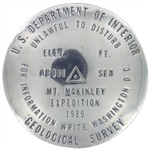 Mount McKinley Survey Monument