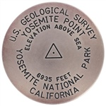 Yosemite Point Survey Marker