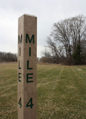 Berntsen Mile Marker Trail Posts