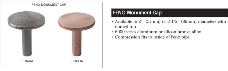 FENO Survey Monument Caps