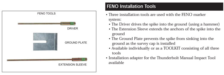FENO Monument Installation Tools
