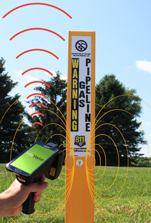 RFID Enabled Utility Marker