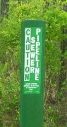 Carsonite Roadmarker Identification Post available from Berntsen