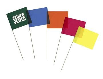 Utility Marking Flags