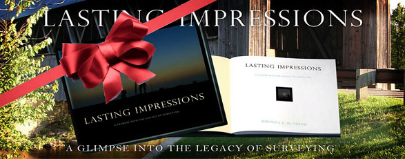 Lasting Impressions Book by Rhonda Rushing - A  Glimpse into the Legacy of Surveying