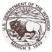 U.S. Department of Interior Trail Sign