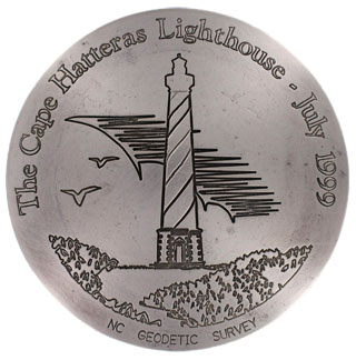 Cape Hatteras Lighthouse Marker