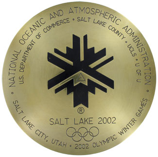 Salt Lake Olympics Survey Marker